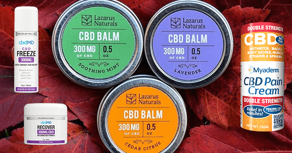 Our Review of the Most Popular CBD Topical Creams, Lotions and Balms