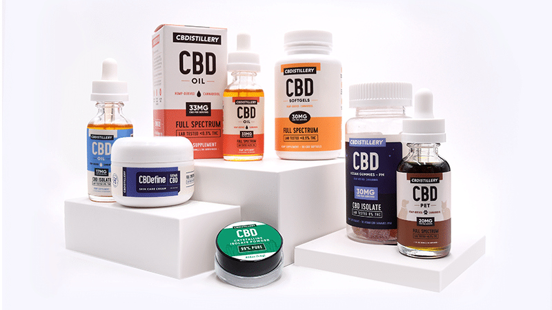 CBDistillery Products
