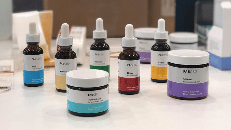 Fab CBD Products