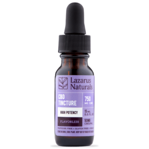 Lazarus Naturals Zero THC Isolate CBD Oil Drops